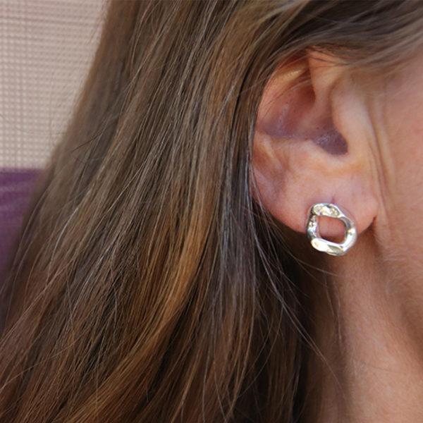 Boucles d'oreilles gros maillon