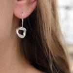 Boucles d'oreilles – Pendante – G Maillon