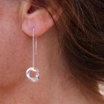 Boucles d'oreilles – Maillon sur chaine