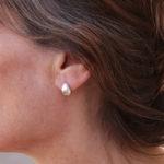 Boucles d'oreilles – Silver Pear
