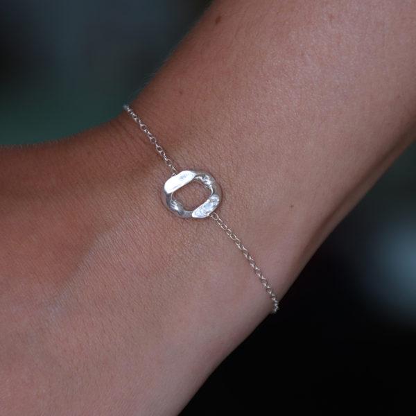 Bracelet maillon peau