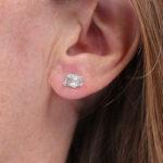Boucles d'oreilles – Leafs – Pépite d'eau
