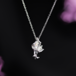 Collier – Silver Flame
