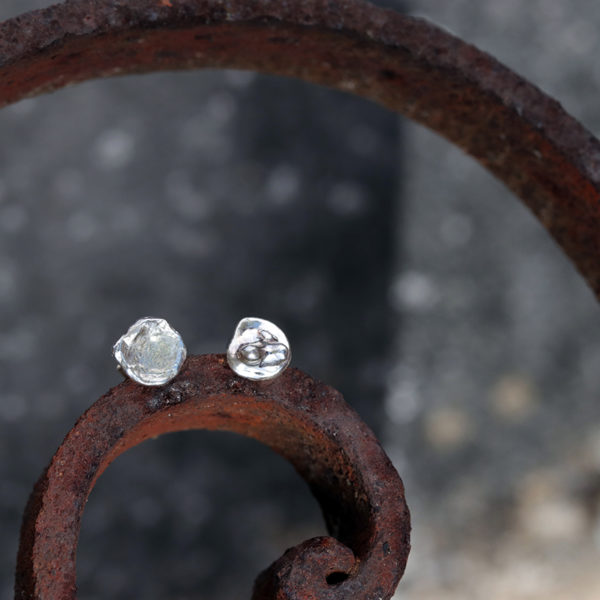 Boucles d'oreilles – Pépite d'eau – Tres